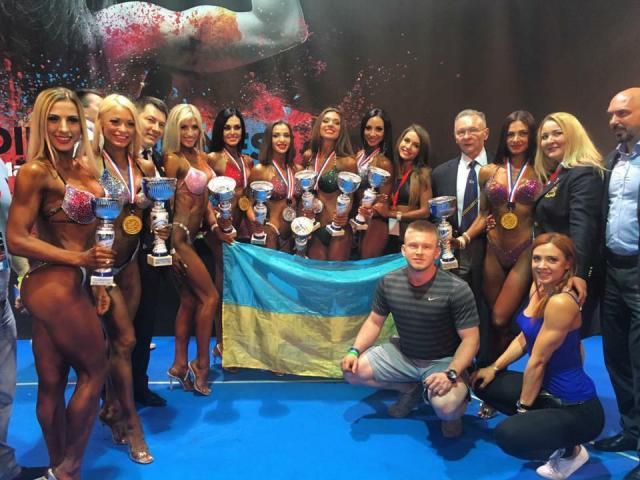 Результаты Чемпионата Европы по бодибилдингу и фитнесу, Санта-Сусанна (Испания), 3-7 мая