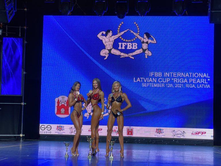 КАТЕРИНА МИРОНЮК – СРІБНА ПРИЗЕРКА «IFBB INTERNATIONAL LATVIAN CUP RIGA PEARL»!